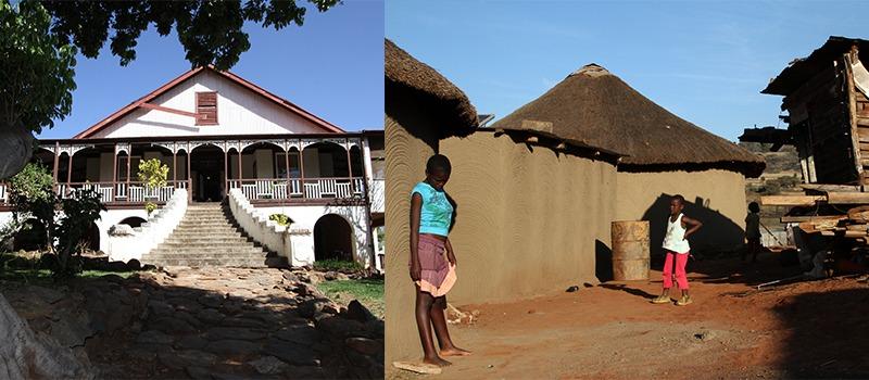 huizen Zuid-Afrika