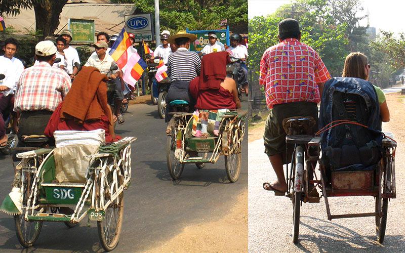 Myanmar tricycle