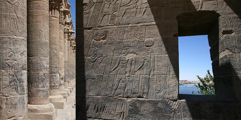 Philae Tempel Aswan