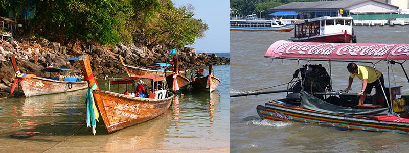 Thailand longtailboten