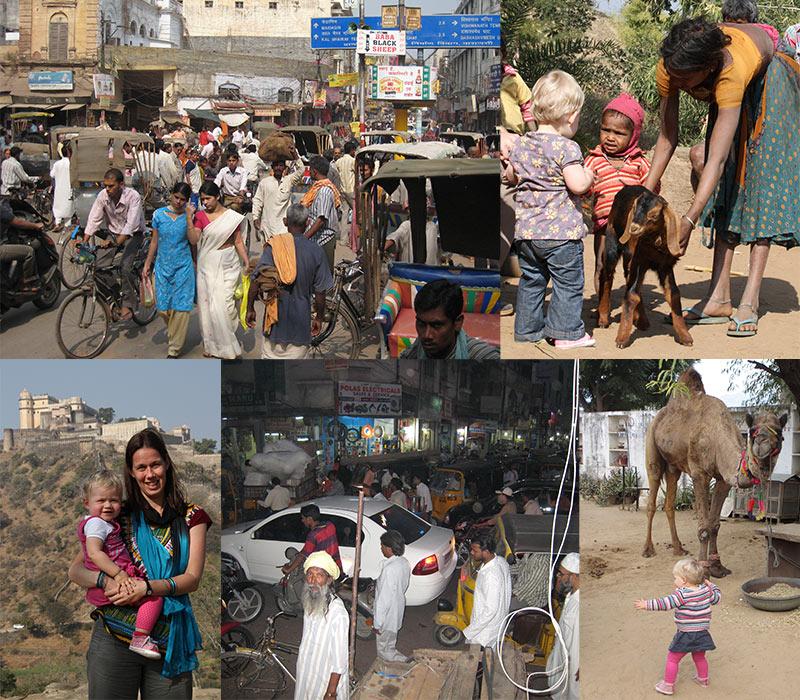drukte in India