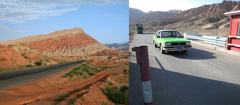 Chinese grens Irkeshtam pas