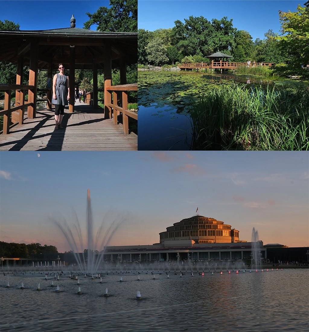 Centennial Hall en Japanse tuin Wroclaw