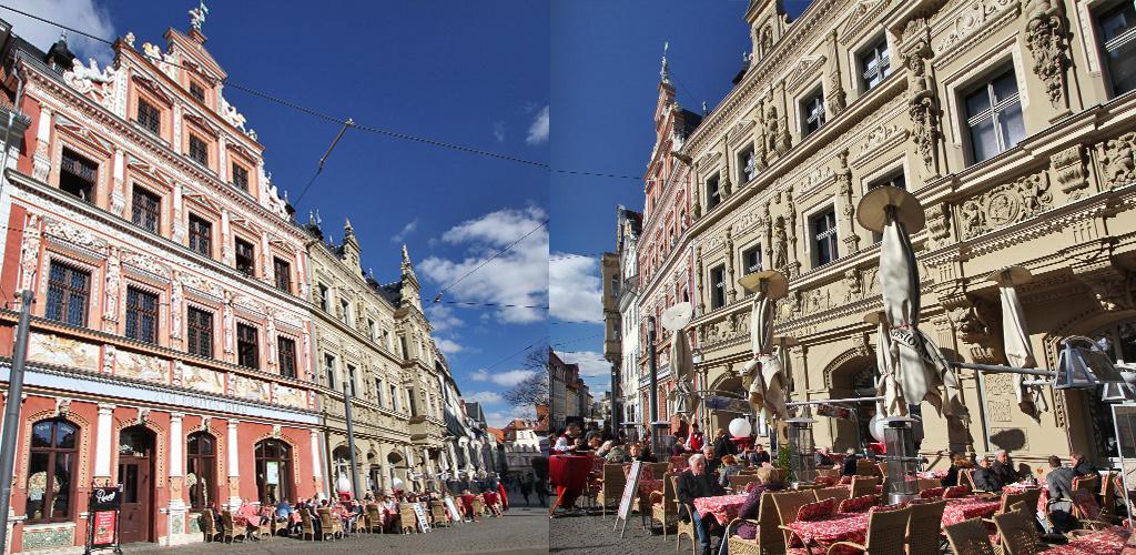 Erfurt is gezellig