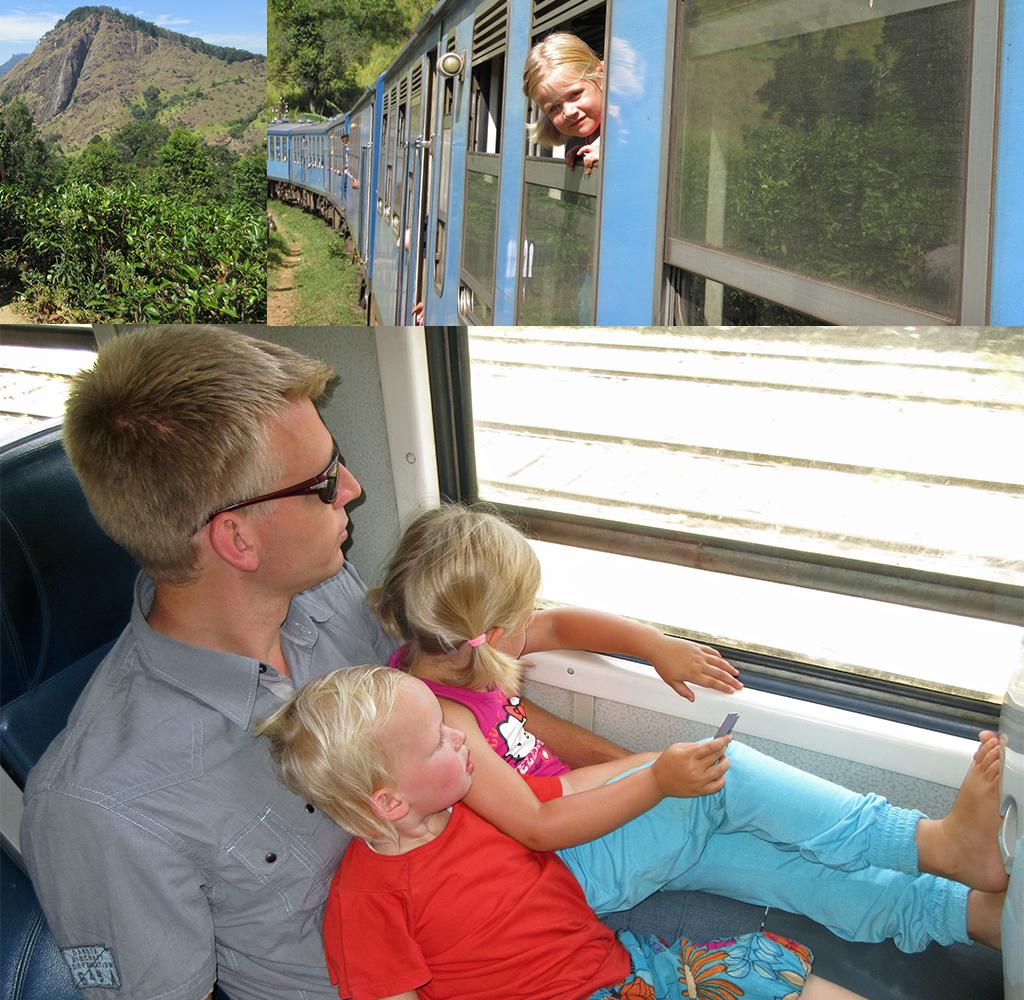 verre reis met kinderen - trein