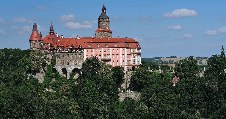 Ksiaz kasteel - slot Fürstenstein - Polen