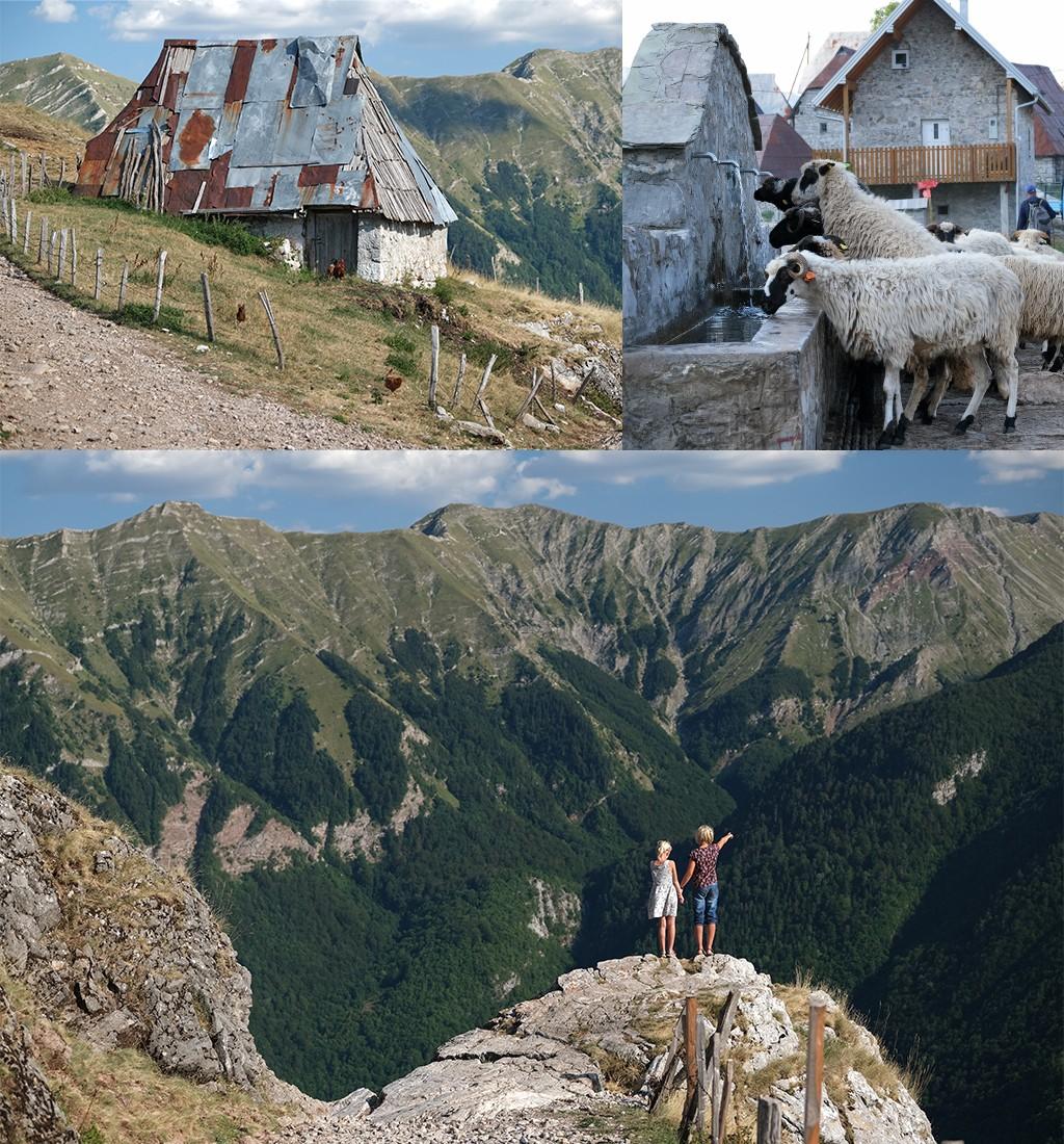 Lukomir route Bosnië en Herzegovina