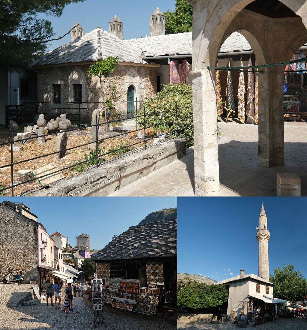 Mostar bezienswaardigheden oude centrum