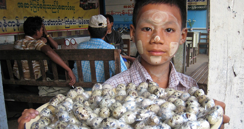 Myanmar platteland