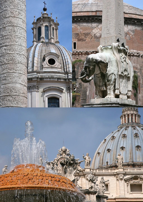 Rome met klein budget wandelen langs oudheden
