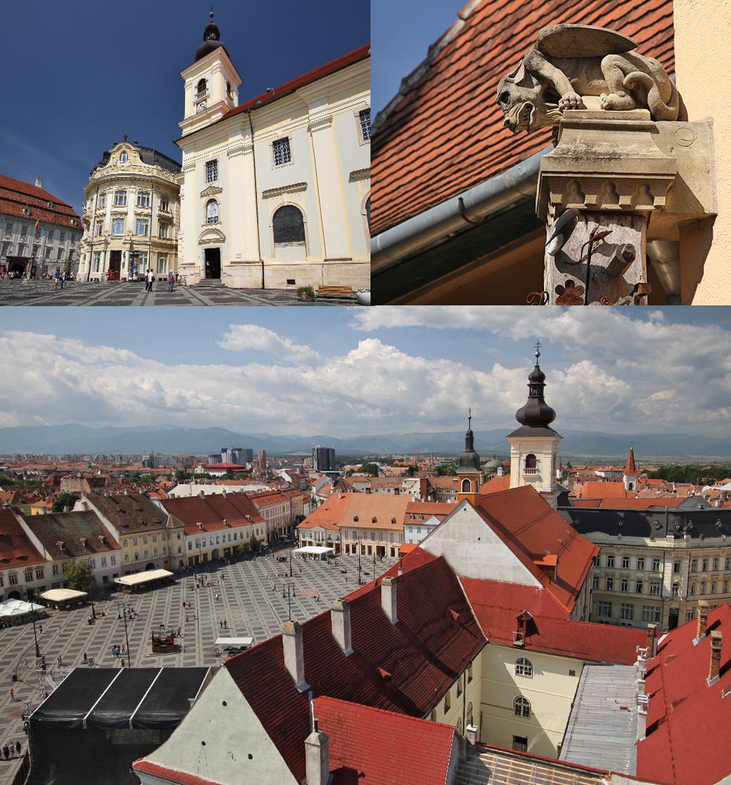 Sibiu oude centrum
