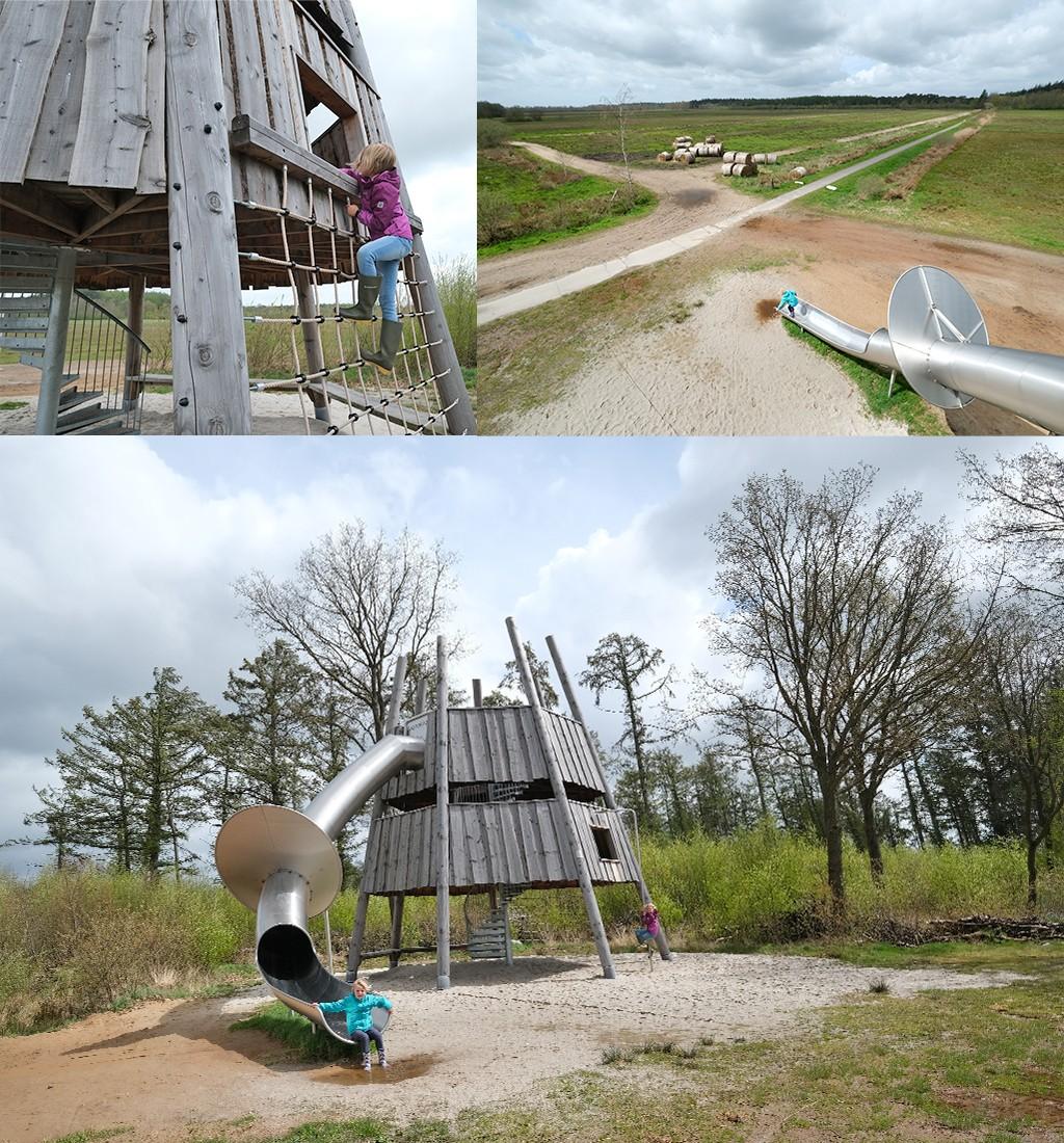 Skarrekiker uitkijktoren Friesland