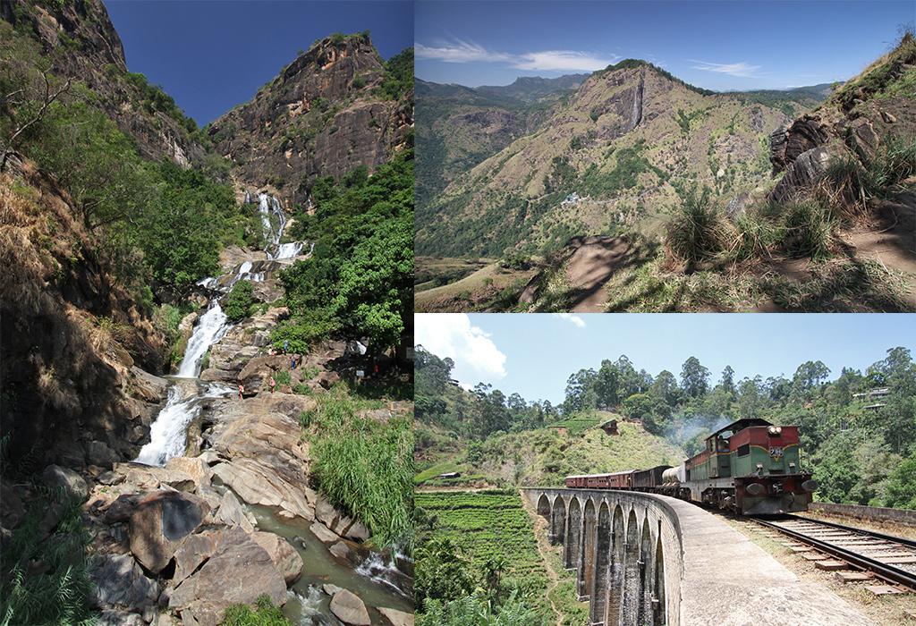 Sri Lanka trein Kandy Ella inmiddels een gebaand pad