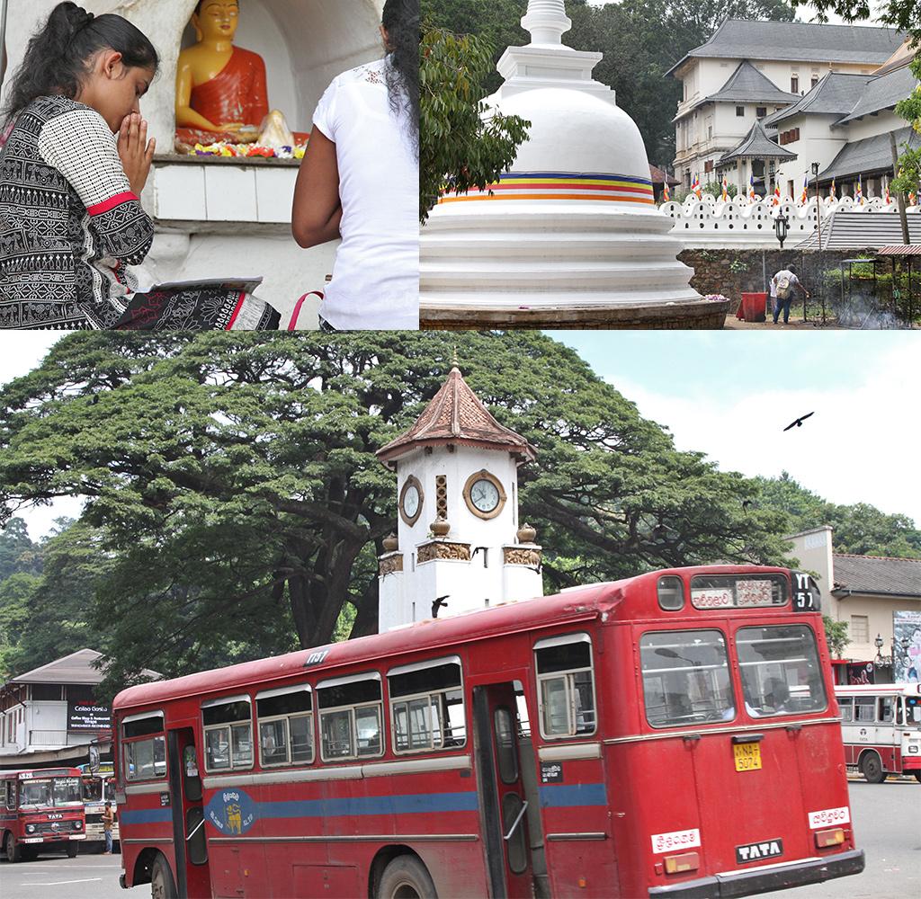 Sri Lanka route Kandy