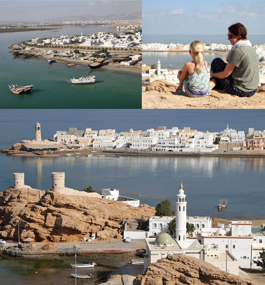 Sur vissersdorp Oman