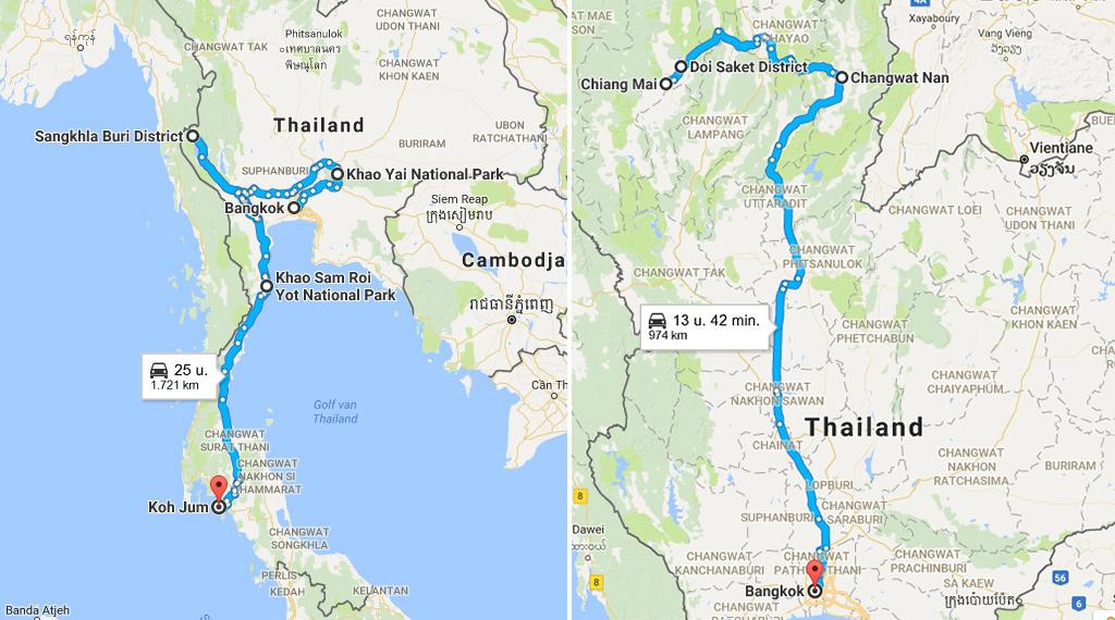 Thailand zonder toeristen rondreis