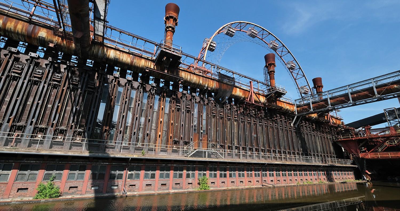 Zeche Zollverein industrieel erfgoed