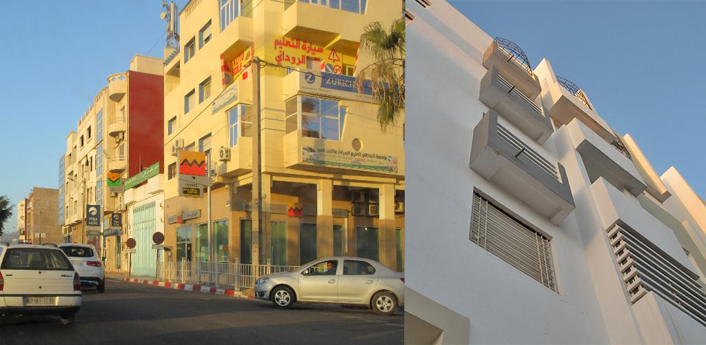 aankomst appartement Agadir