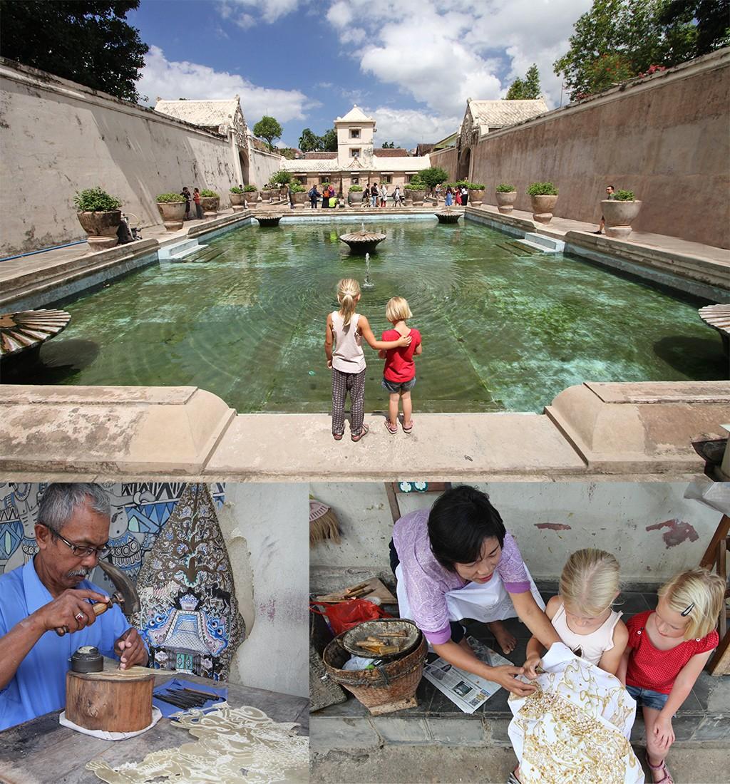 bezienswaardigheden Yogyakarta Waterpaleis Kraton