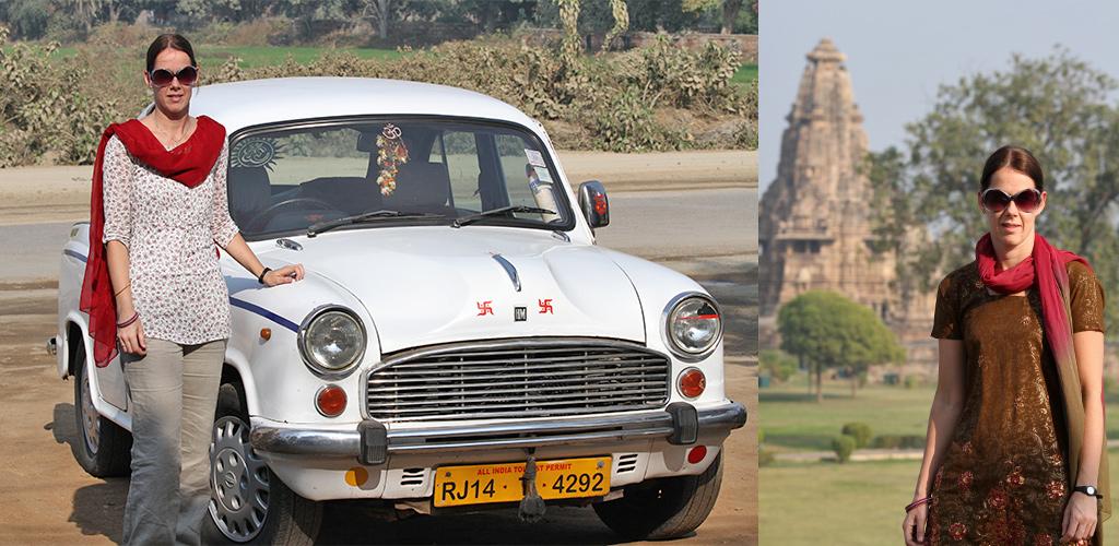 eerste keer India - kleed jezelf gepast