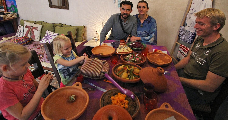 eten bij een local in Fez