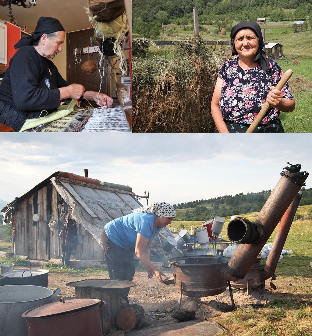 hard werkende mensen in Roemenië
