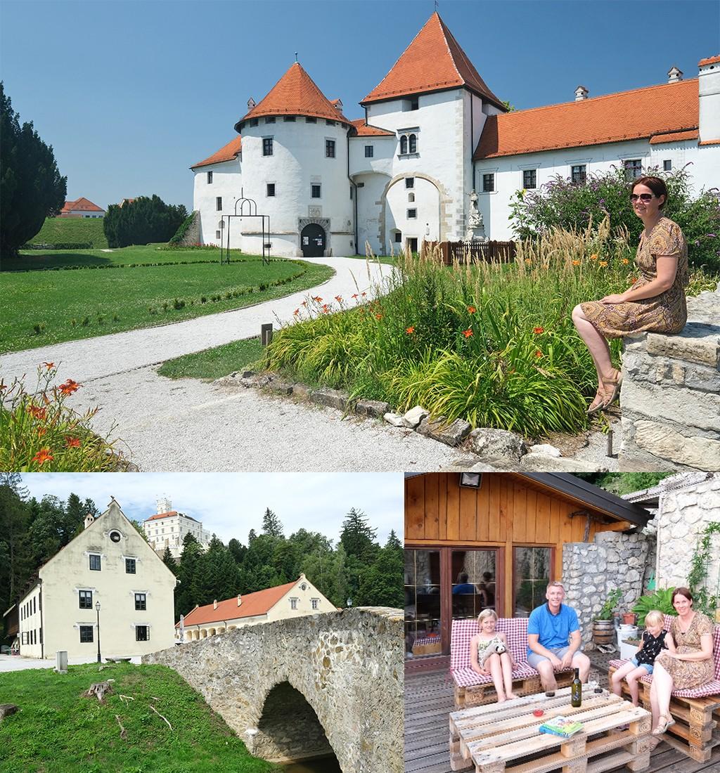 kastelen en fijne accommodatie in noord Kroatië