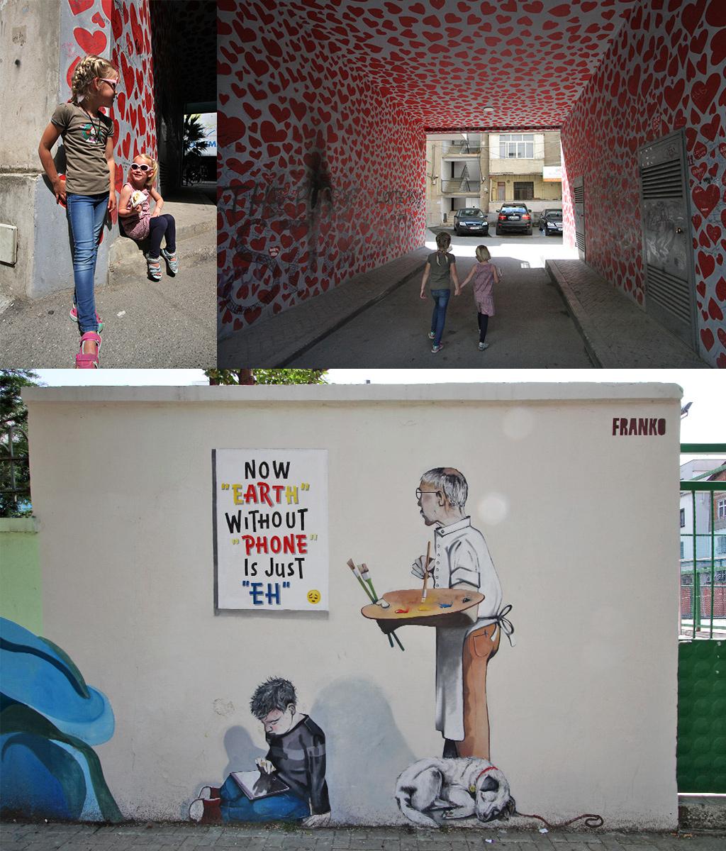 kunstprojecten street art Tirana