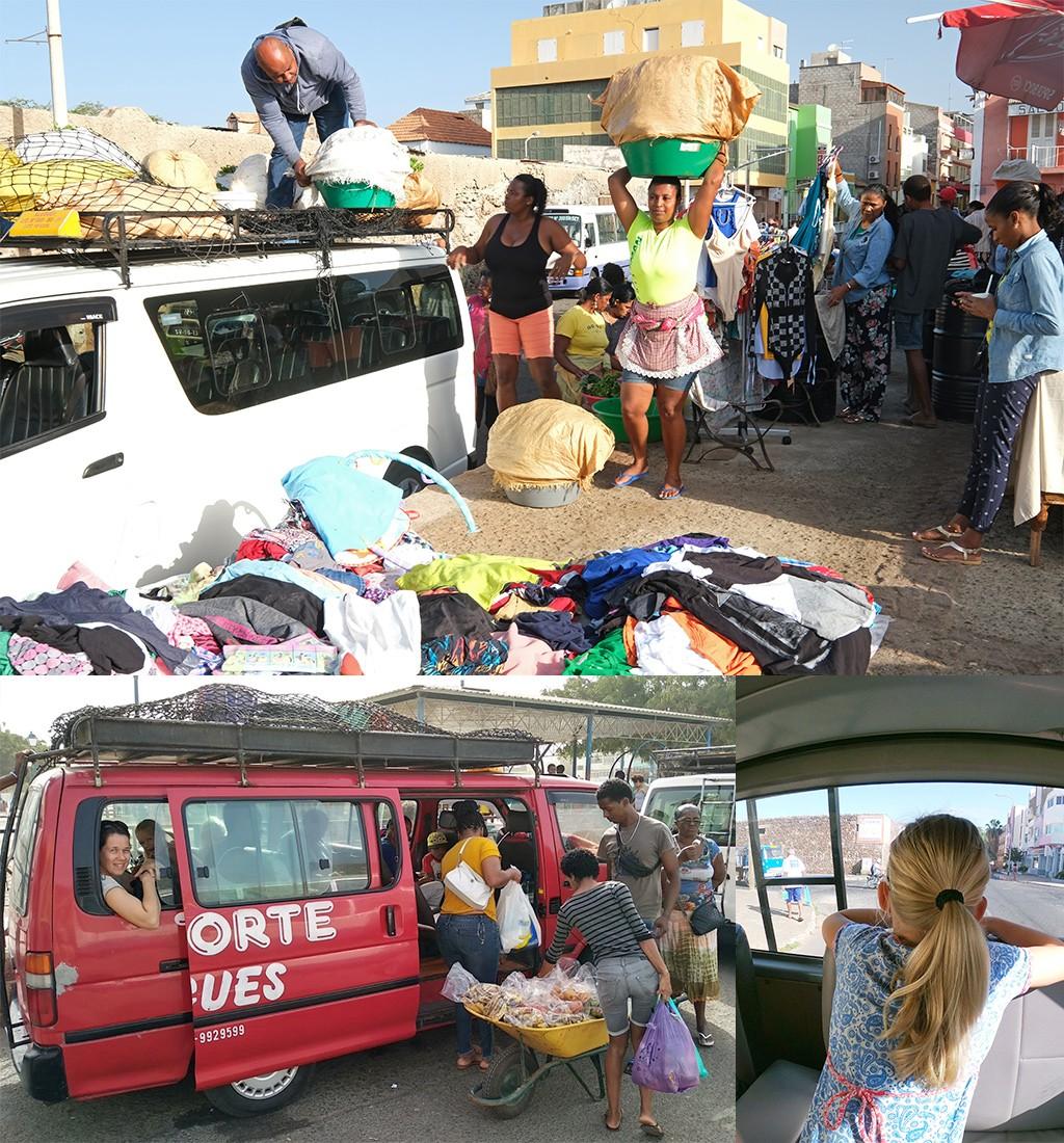 lokaal vervoer Kaapverdië