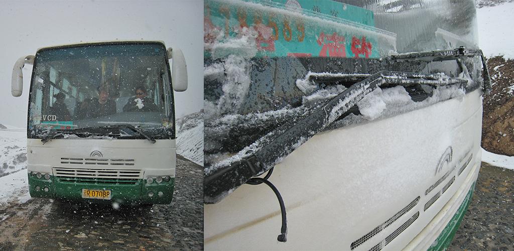 Met sneeuw terug naar Zhongdian-Shangri-La