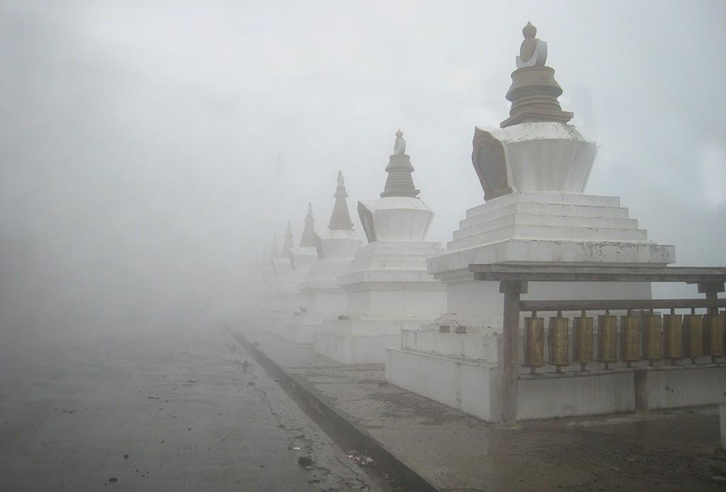 mist geeft diepte