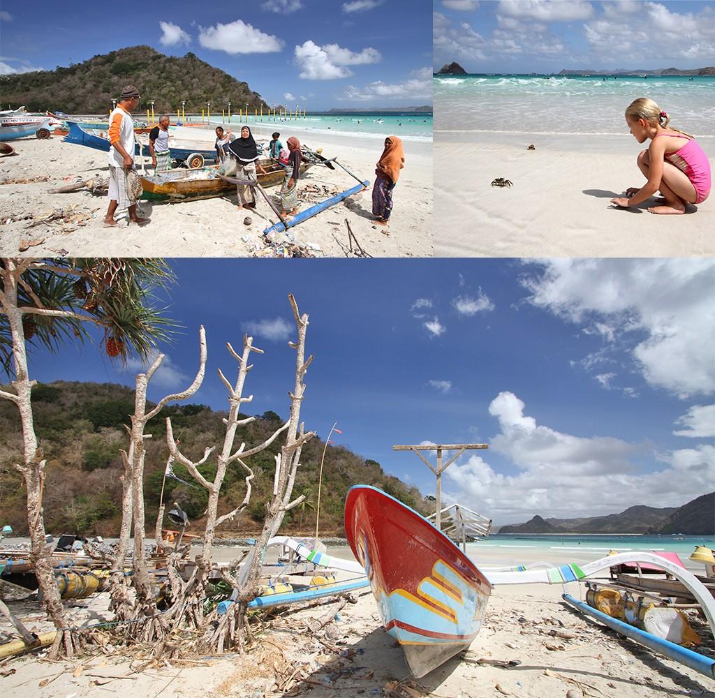 mooiste stranden Kuta Lombok - Selong Belanak