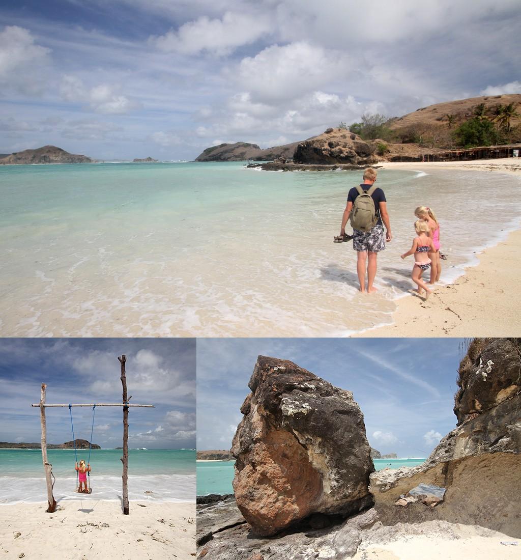 route Java, Bali en Lombok - mooiste stranden Kuta Lombok