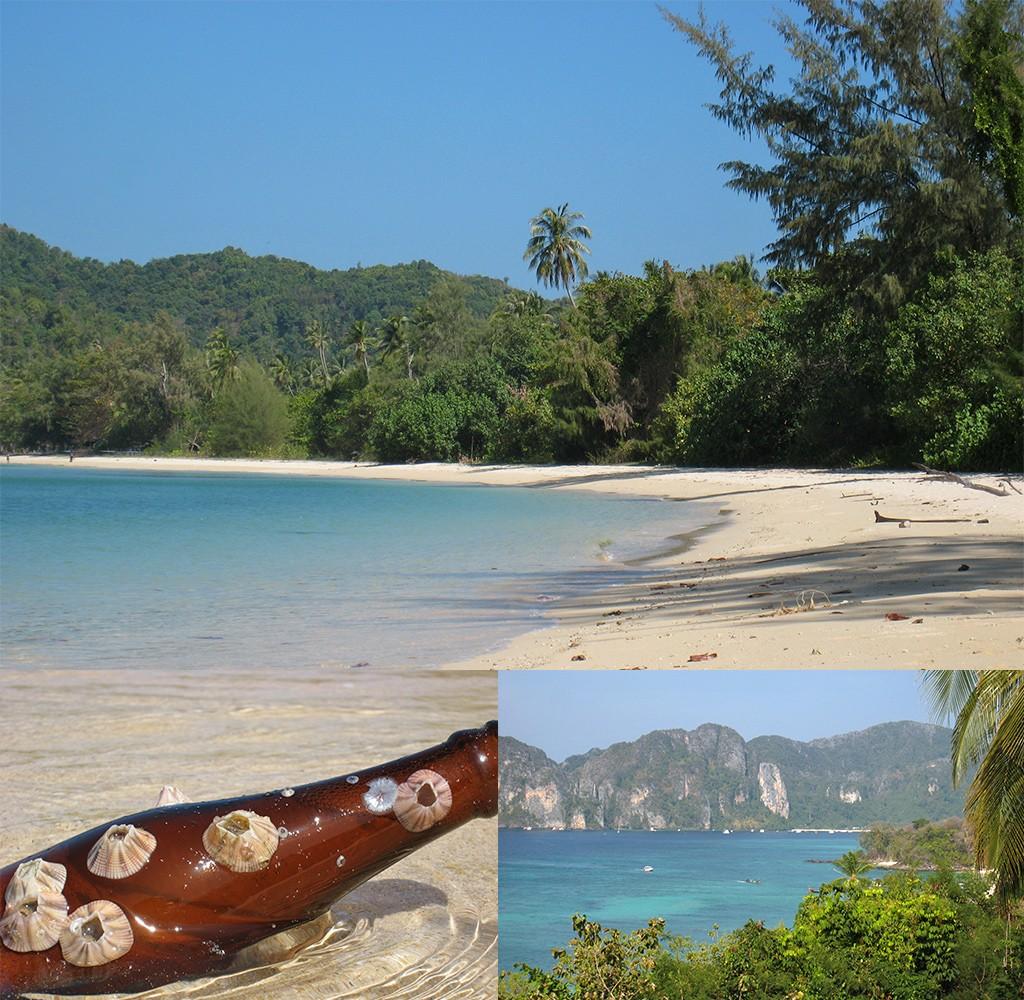 op tropische honeymoon in Thailand