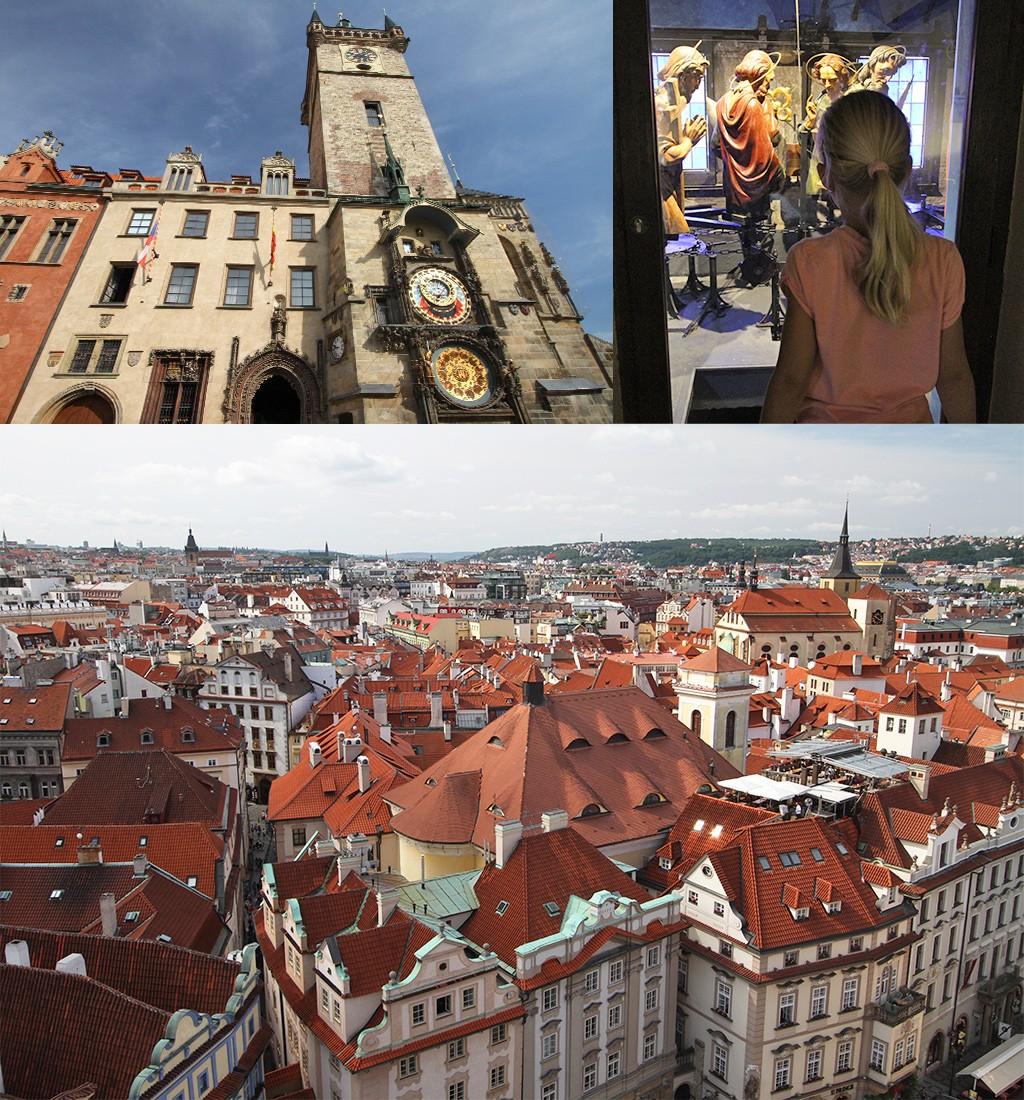 oude raadhuis en astronomische klok Praag