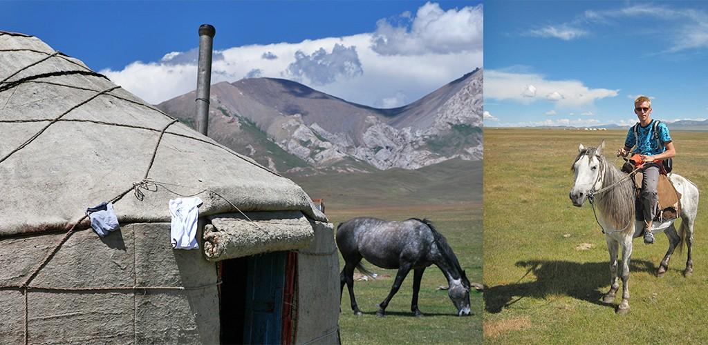 paardrijden Song-Köl