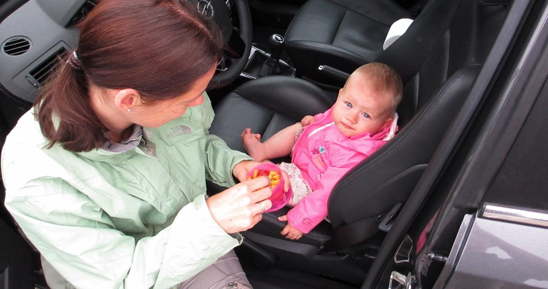 roadtrip met baby peuter kleuter
