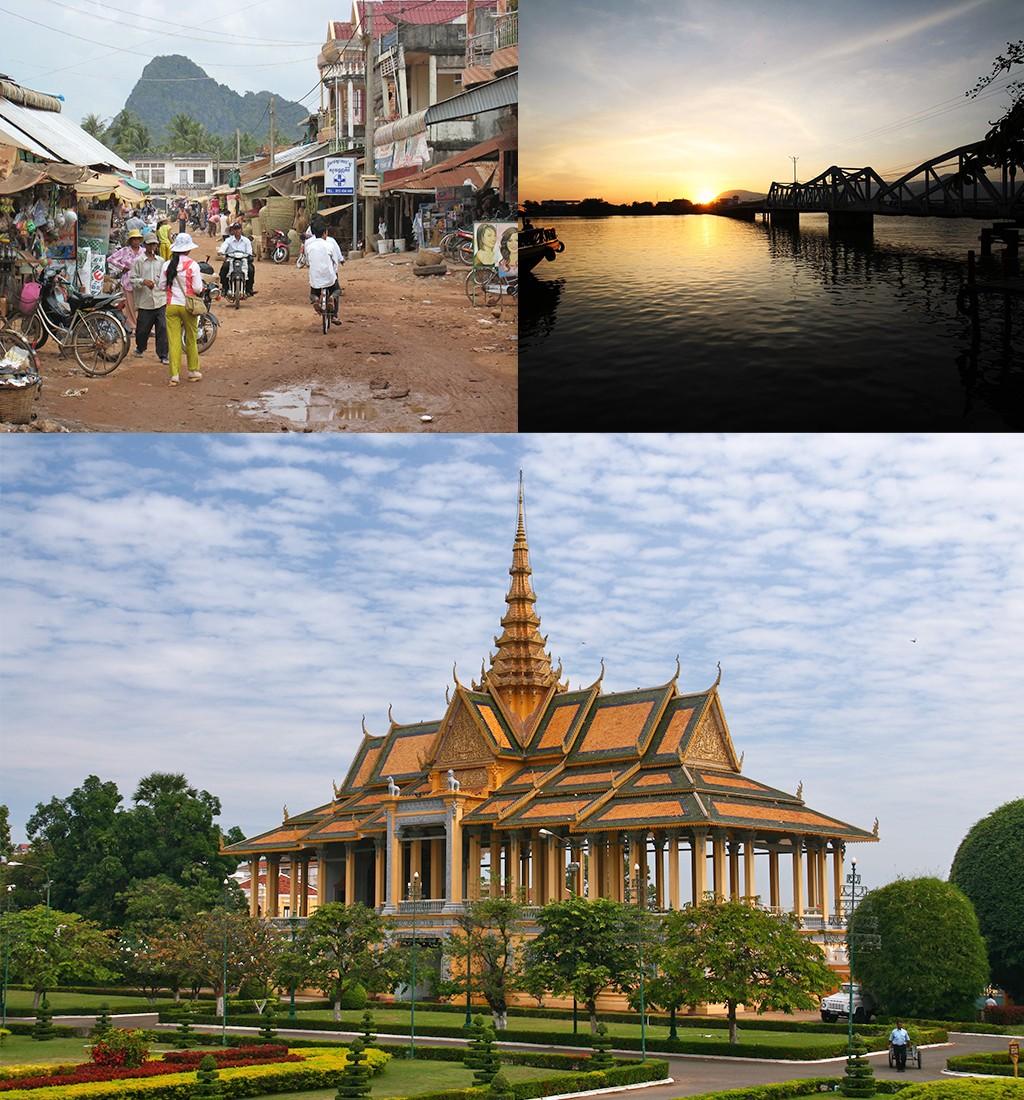 rondreis Cambodja route Kampot en Phnom Penh