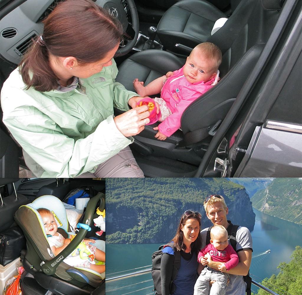 rondreis Noorwegen met baby
