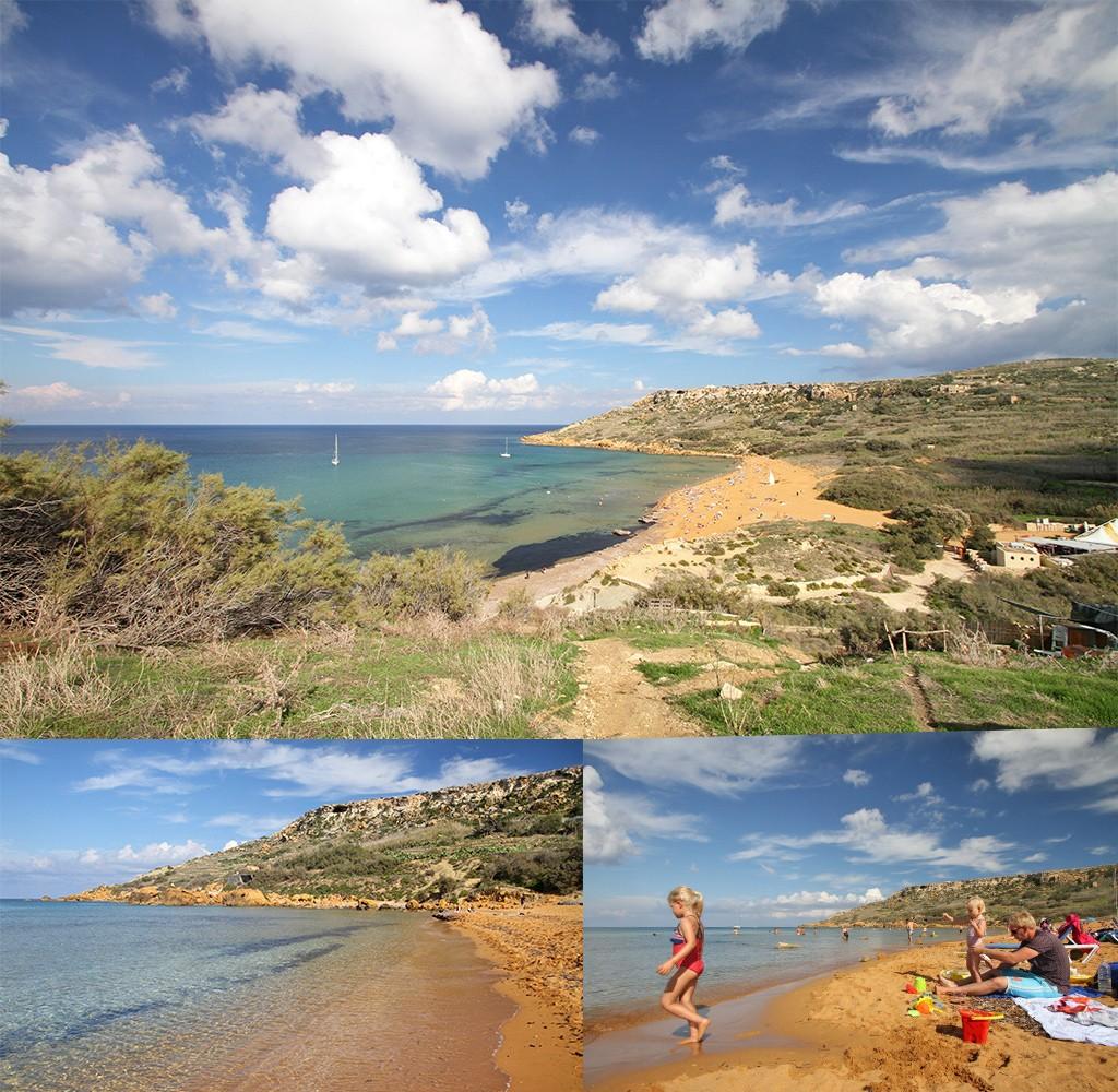 stranden Malta en Gozo - Ramla Bay