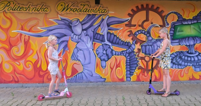 street art in Wroclaw
