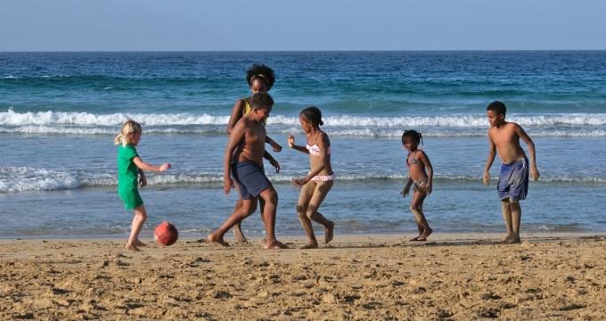 thuis in Salamansa op Kaapverdië