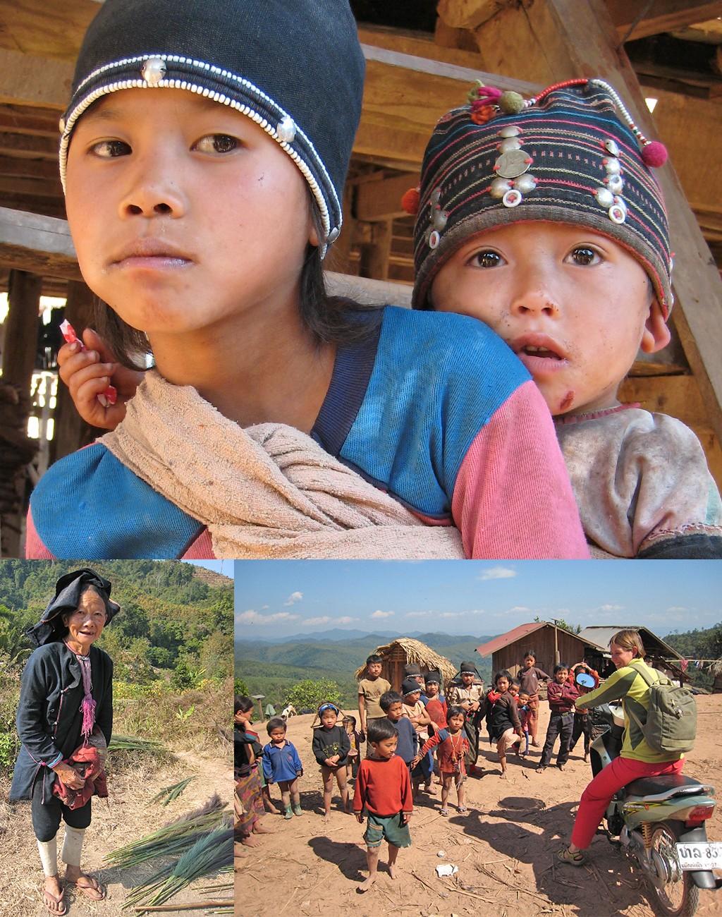 unieke plekjes in Laos off the beaten track Akha dorpjes