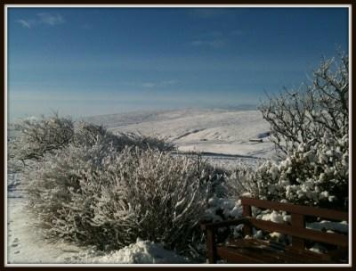 snow & sun
