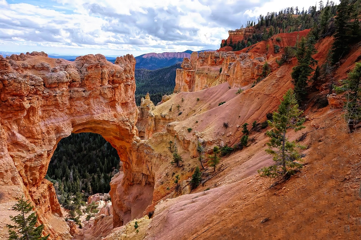 Why Utah is the Best State for Nature Lovers. Bryce Canyon National Park - bridge overlook.