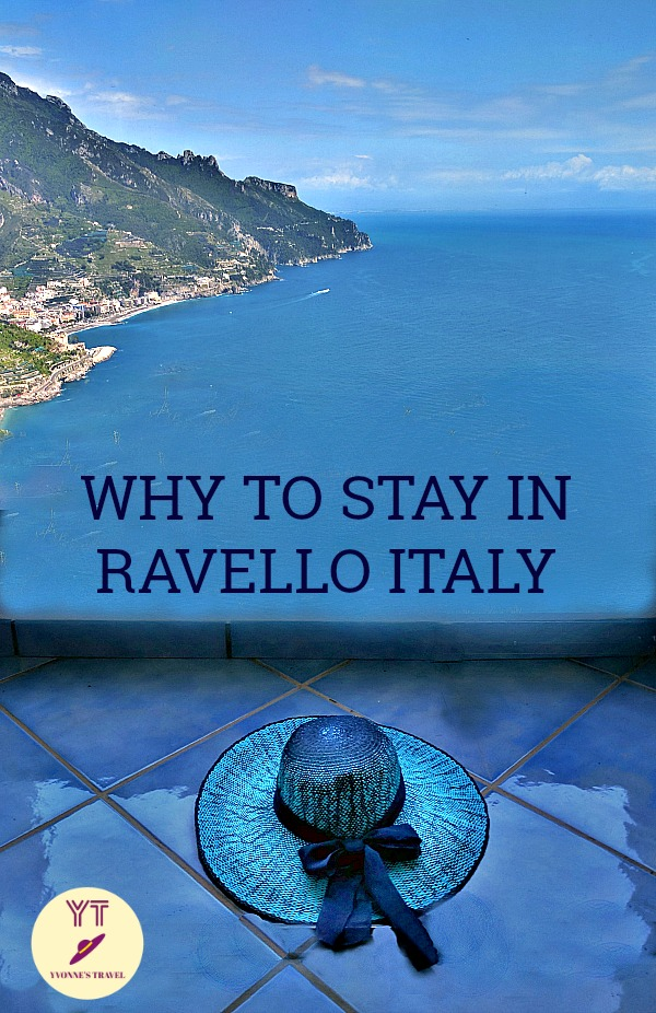 Visiting the Amalfi Coast and wondering where to stay? Forget about Positano and Amalfi and head straight to Ravello. See why. #ravelloitaly #amalficost