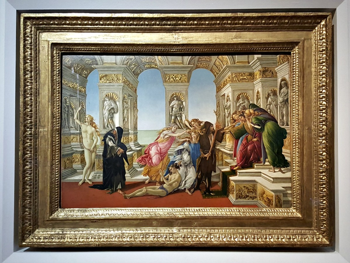 Famous sights in Italy - Uffizi Gallery Florence.