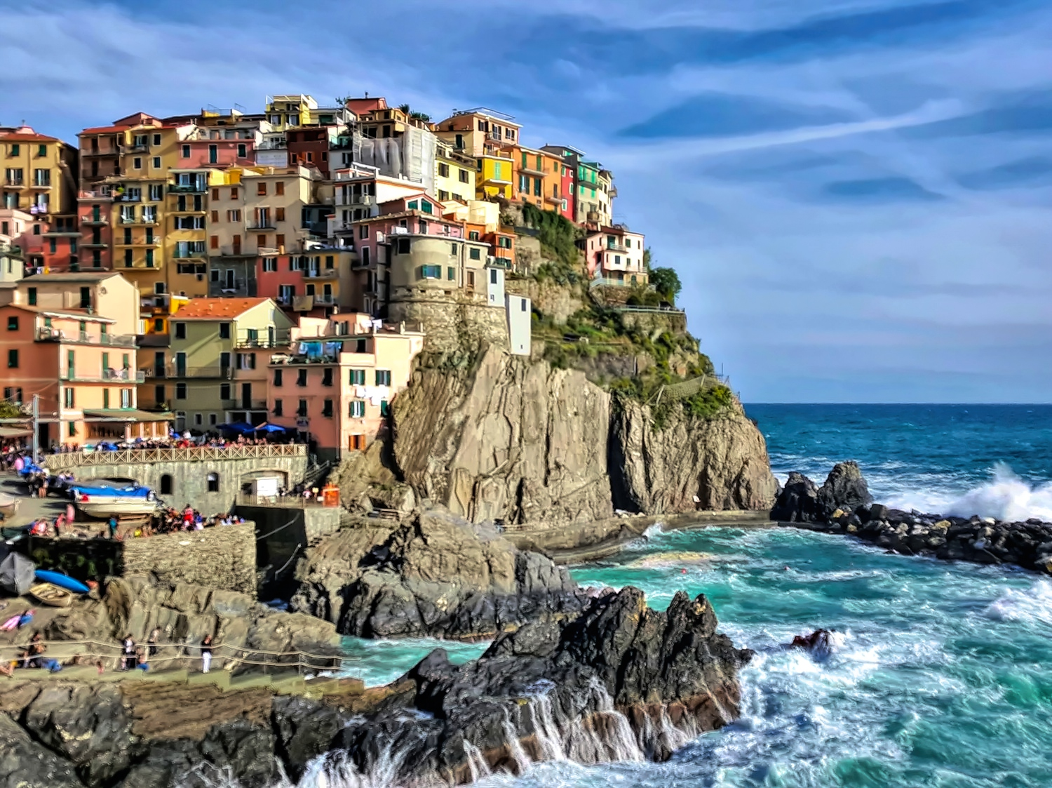 Cinque Terre - one of the most beautiful destinations in Italy.