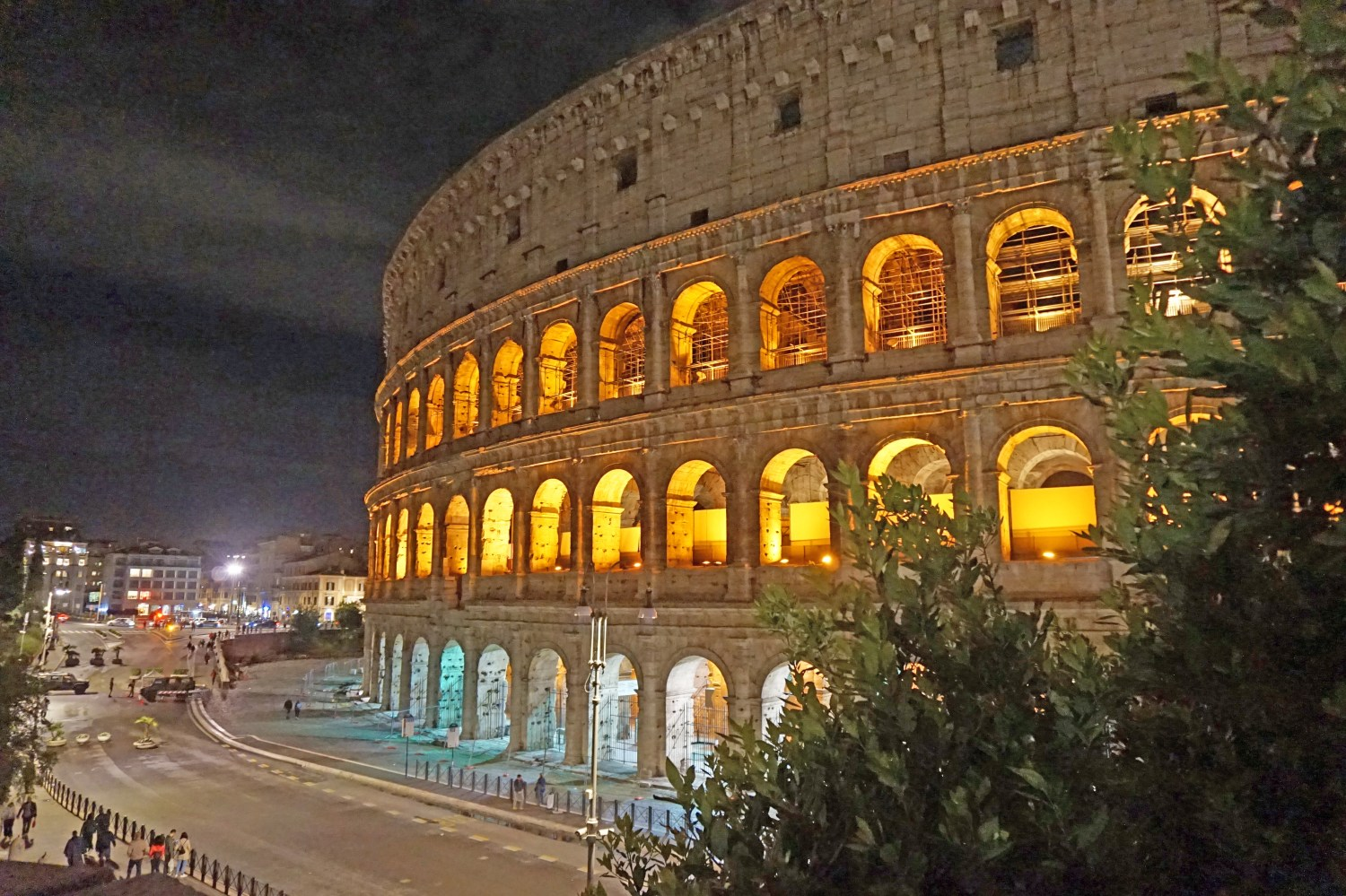 Most famous Italy attraction - the Colosseum.