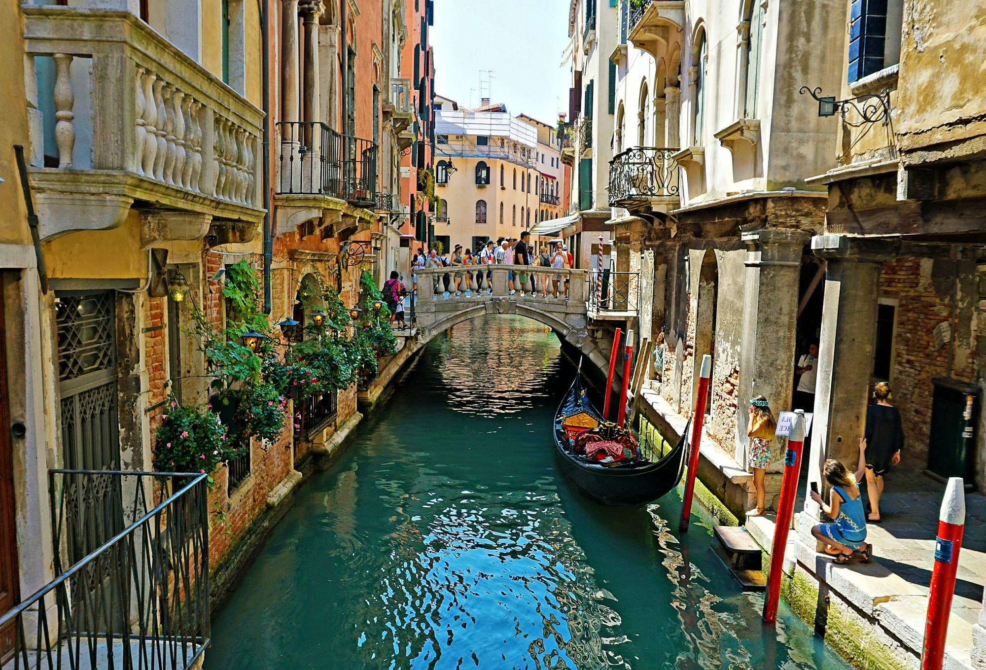 Tips on visiting Venice. Venice Canal.